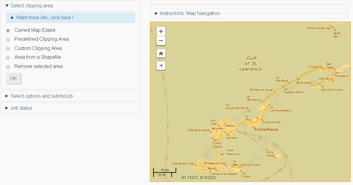 Geospatial Data Extraction